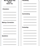 Guided Reading Book Mark
