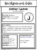 Guided Reading Book Study- Harriet Tubman, Level J