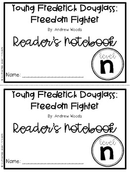 Guided Reading Book Study- Young Frederick Douglass, Level N