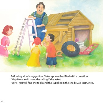 "Guided Reading Book- (original) ""Dad Is Too Busy!"""