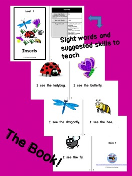 Guided Reading Book w/Matching Activities Free