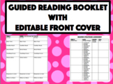 Guided Reading Booklet with Log, Assessments, Term Divider
