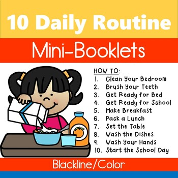 Guided Reading Booklets: 10 Daily Routines