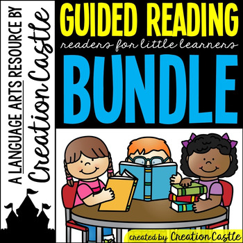 Guided Reading Books GROWING Bundle