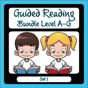Guided Reading Level A-G Set 1
