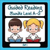 Guided Reading Level A-G Set 1 Bundle