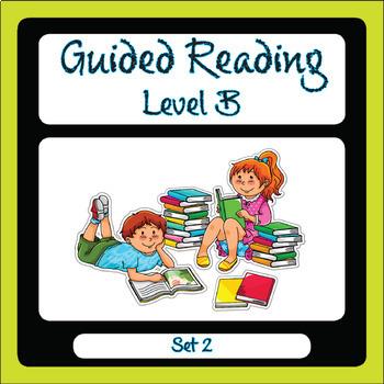 Guided Reading Level B Set 2