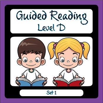 Guided Reading Level D Set 1