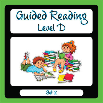 Guided Reading Level D Set 2