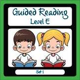 Guided Reading Level E Set 1