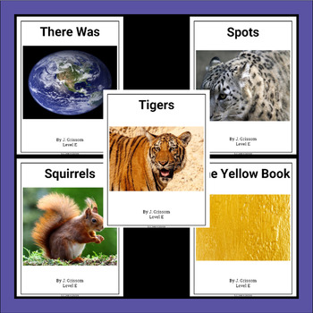 Guided Reading Level E Set 2