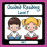 Guided Reading Level F Set 1
