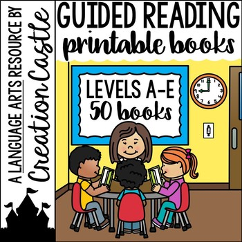 Guided Reading Books Levels A to E
