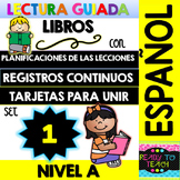 Guided Reading Books in Spanish - Level A - Lesson Plans, Running Records