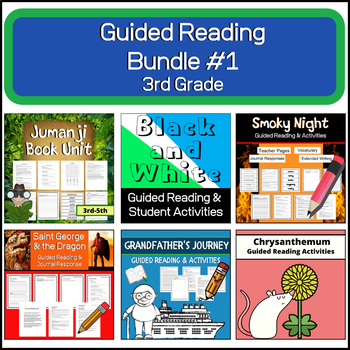 Guided Reading Bundle #1 | 3rd Grade