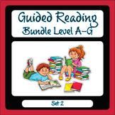 Guided Reading Level A-G Set 2 Bundle