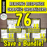 Reading Response Graphic Organizers for Elementary Reading BUNDLE