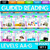 Guided Reading Bundle Leveled Readers AA-G Set Two {GROWIN