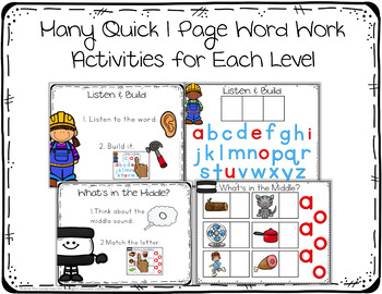 Guided Reading Activities & Lesson Plans Bundle AA-D (Print & for Google™ Use)