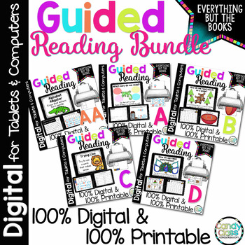 Guided Reading Activities Bundle • Reading Strategies, Phonics Activities & More