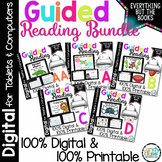 Kindergarten Guided Reading Activities & Lessons Bundle AA-D Digital & Printable