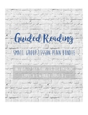 Guided Reading Bundle: Modified Jan Richardson Lesson for