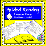 Guided Reading Bundle for levels C,D,E (Reading A-Z books)