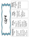 Guided Reading CAFE Tools with Common Core Standards