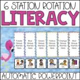 Guided Reading Center Rotation Automatic PowerPoint