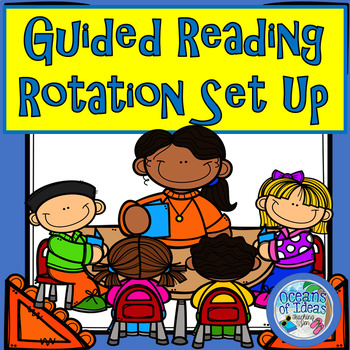 Guided Reading Center Rotations Quick Set Up