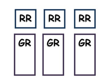 Guided Reading Center Signs for Upper Grades