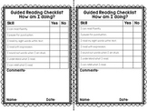 Guided Reading Checklist Freebie
