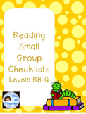 Guided Reading Checklists (Level RB-Q) with Comprehension Questions