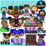 Guided Reading Clip Art Bundle (Educlips Clipart)