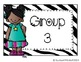 Guided Reading Clip Chart- Zebra Print