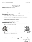 Guided Reading: Colonial Era