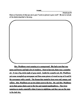 Guided Reading Comprehension Lesson-Visualizing