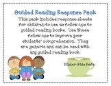 Guided Reading Comprehension Pack