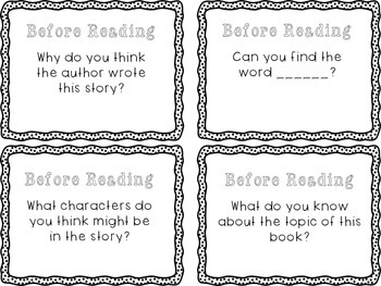 Guided Reading Comprehension Questions