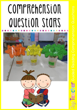 Guided Reading Comprehension Stars