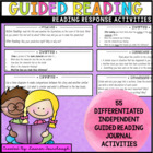 Guided Reading Comprehension Strategy Activities