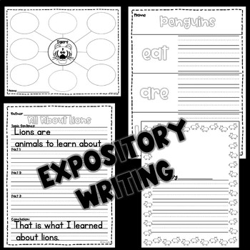 Guided Reading Comprehension and Fluency Passages Zoo Animals GROWING BUNDLE