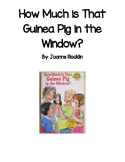 Guided Reading Comprehesion: How Much is that Guinea Pig i