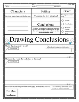 Guided Reading: Drawing Conclusion#1