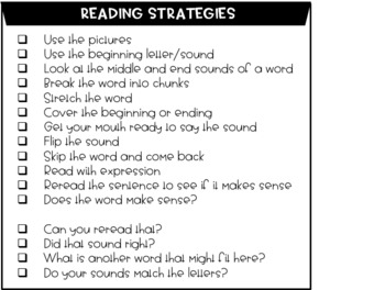Guided Reading Conference Lesson Plan Template/Checklist + Parent Reading Letter