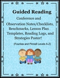 Guided Reading Conference Forms (Levels A-Z) & Much More!