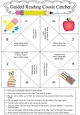 Guided Reading Cootie Catcher