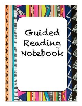 Guided Reading Cover and Documents