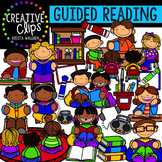 Guided Reading {Creative Clips Digital Clipart}