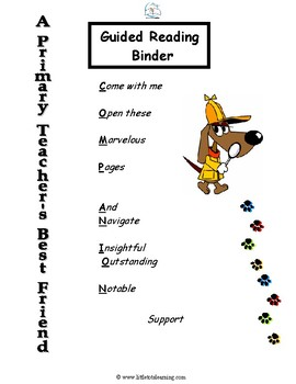 Guided Reading Curriculum Bundle Levels A-M